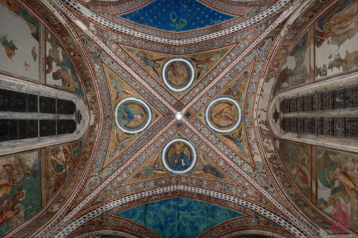 Volta degli Intercessori, Chiesa superiore della Basilica di San Francesco in Assisi