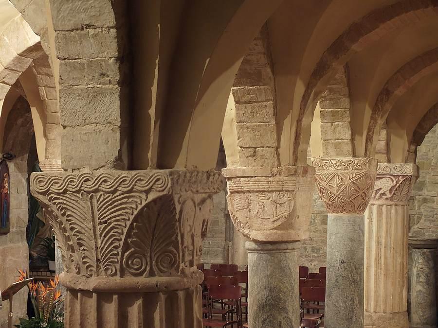 capitelli Abbazia di Rambona